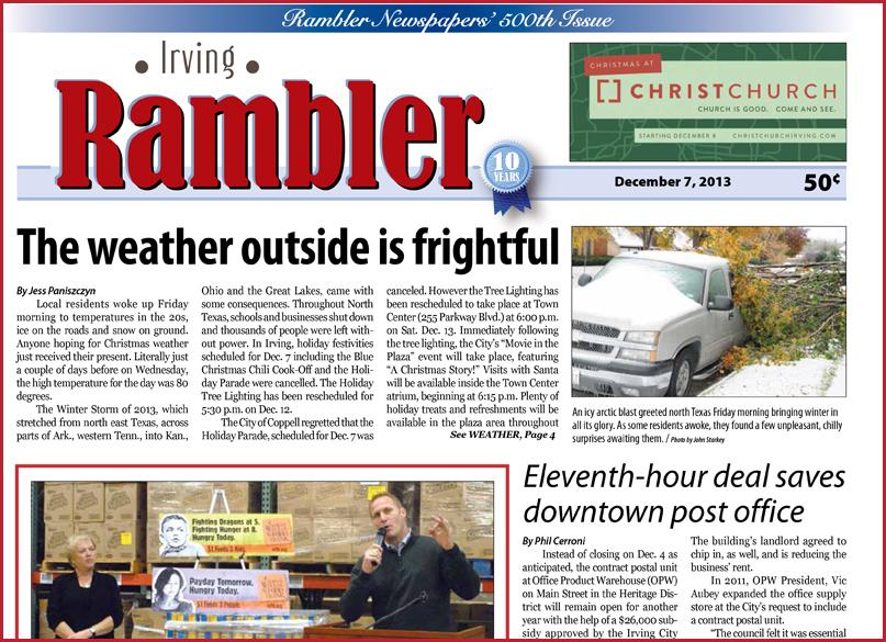 12/7/2013 Irving Rambler