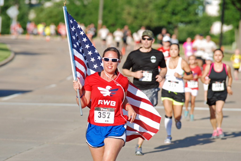 Runners of all ages gathered for the Officer Andrew Esparza Memorial Foundation 5k and one-mile fun run, May 10, at the North Irving Mustang Recreation Center. Photo by Stephen Goodgame.