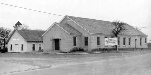 "Founded 75 years ago when a lone man preached the gospel in the glow of a naked light bulb, in an empty parking lot, Pioneer Drive Baptist Church grew up with Irving. After three church buildings and a location change, pastor Bobby Joe Raper says the church still serves Christ, ""On the corner where you are."" Courtesy Photo."