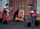 recreated fighting style of 17th century musketeers