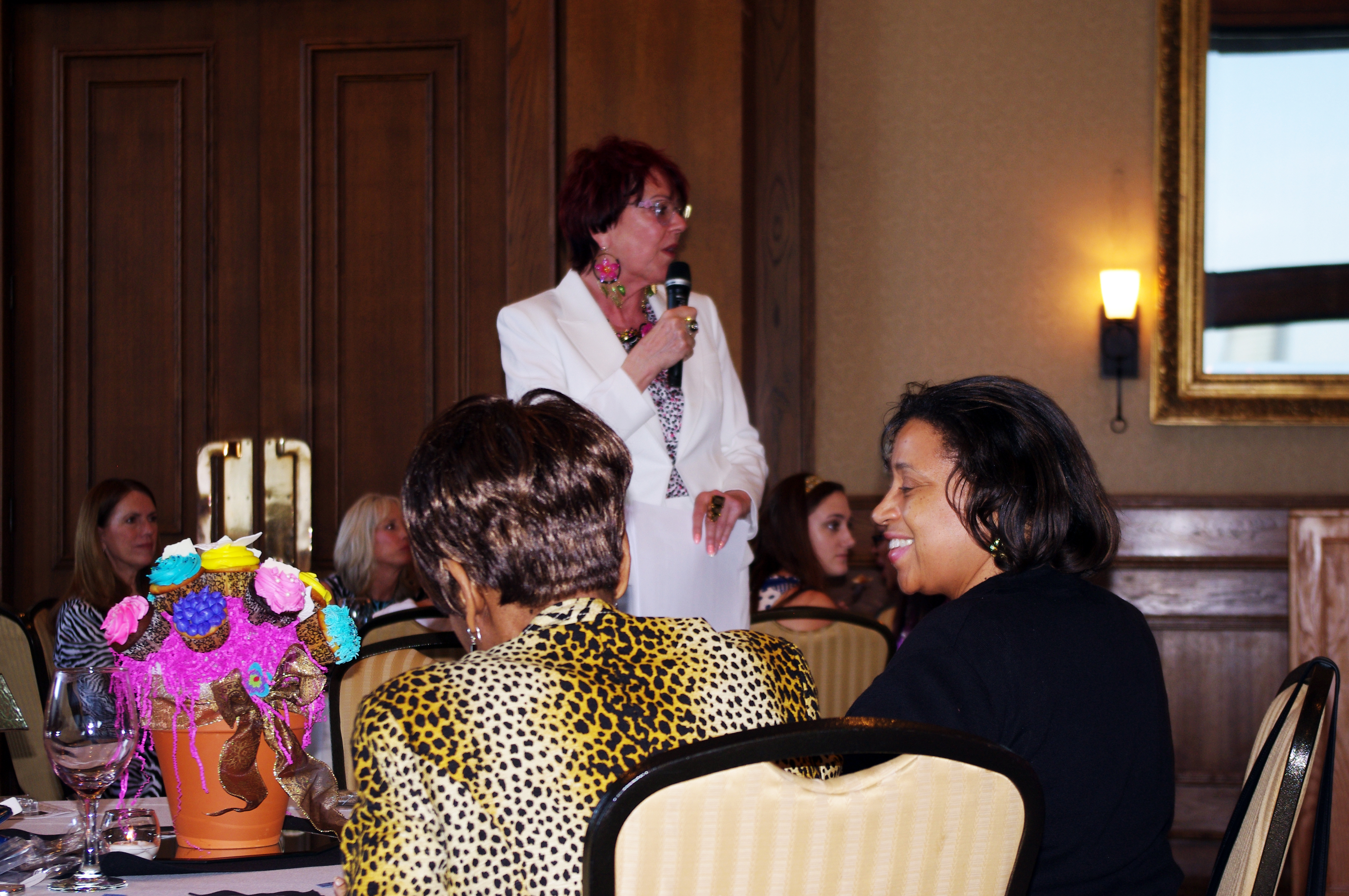 Wine, laughter, tear-jerking stories of sacrifice and celebrity purse buying were all mixed together at the Irving International Women's Consortium's (IIWC) 8th Annual Influence of the Purse auction at the Las Colinas Country Club, April 10.