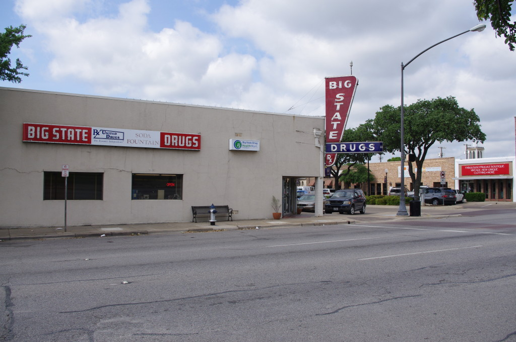 Main Street Irving may undergo some  changes as Big State Drug closes its doors  for good. / Photo by Genesis Bishop