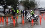 Motorcycle officers improve skills through competition