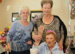 Irvingite, customer celebrates 100th birthday at Joe's