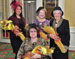 Lovely ladies honored by traditional High Tea