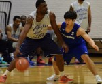 South Korean basketball team plays exhibition at North Lake College