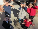 Primrose students see shadows on Groundhog Day