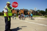 Irving's oldest crossing guard completes 15 years of duty