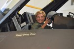 "Fort Worth Mayor Betsy Price gets the ultimate ""Top Gun"" experience"