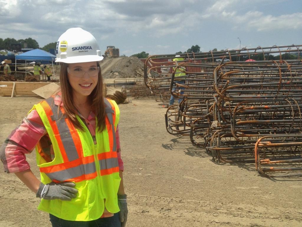 Amanda Calvert brings a woman's touch to construction ...