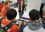 LBJ Express Engineers join middle school science club for technology day