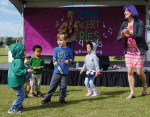 Preschoolers rock out at Mister G concert
