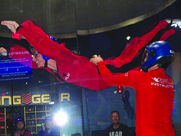"iFLY hosts ""All Abilities Night"" for disabled athletes and"