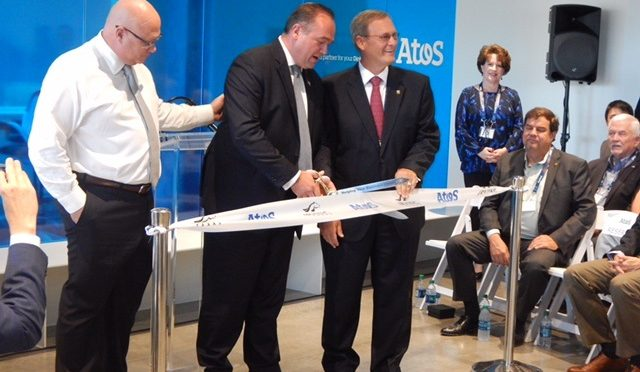 Atos opens state-of-the-art facility