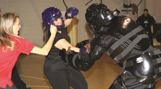 Irving police teach women's self-defense