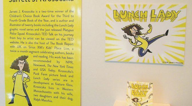Graphic novels exhibit puts comics in spotlight